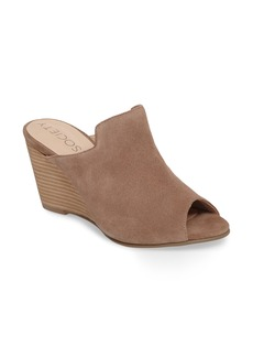 Sole Society Drew Open-Toe Wedge Mule (Women)