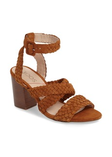 Sole Society Evelina Block Heel Sandal (Women)