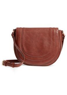 Sole Society Piri Faux Leather Saddle Bag