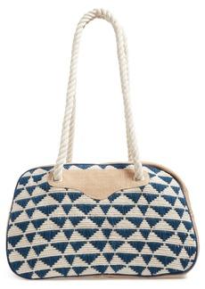 Sole Society Getaway Woven Weekend Bag