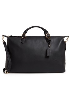 Sole Society Grant Faux Leather Weekend Bag