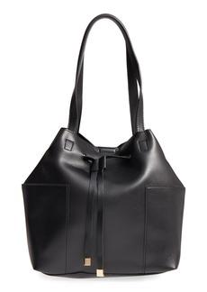 Sole Society Jocelynn Faux Leather Bucket Bag