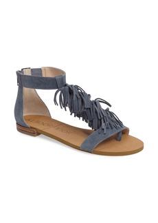 Sole Society Koa Fringed T-Strap Sandal (Women)