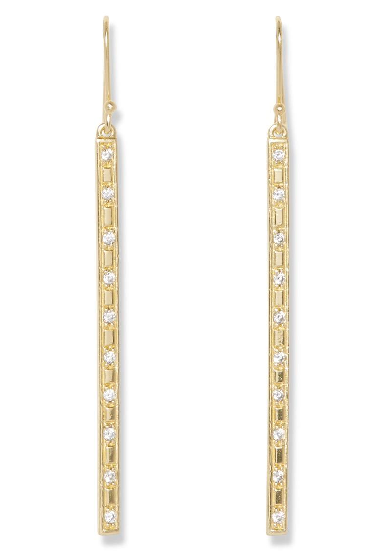 Sole Society Linear Drop Earrings
