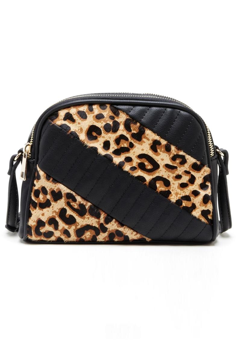 Sole Society Linza Genuine Calf Hair Crossbody Bag