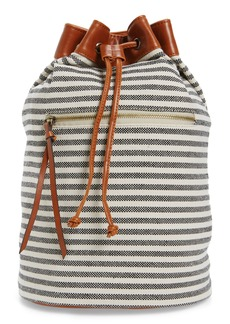 Sole Society Maisee Stripe Fabric Backpack