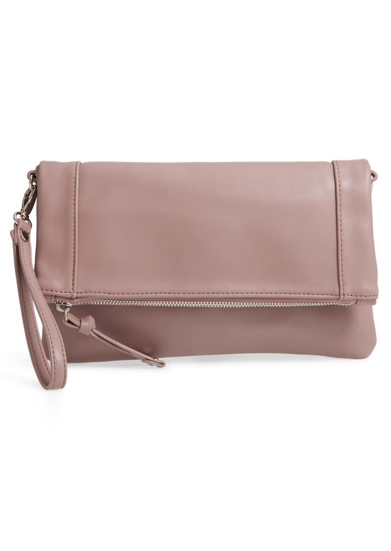 4e04b44bc8eb Sole Society Sole Society Marlena Faux Leather Clutch.Crossbody Bag ...