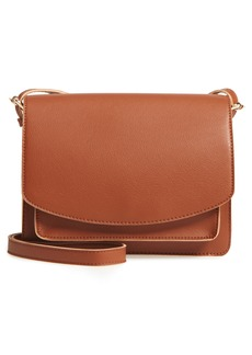 Sole Society 'Michelle' Faux Leather Crossbody Bag