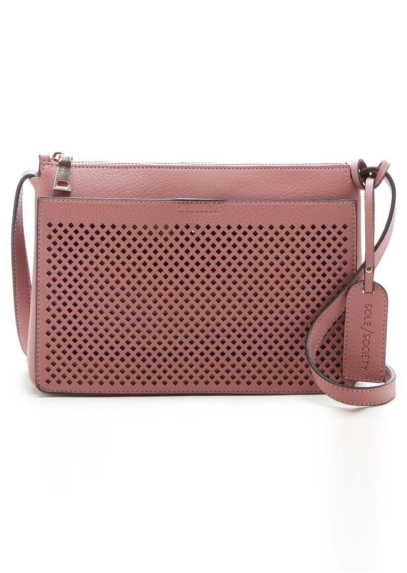 Sole Society Nicoh Faux Leather Crossbody Bag