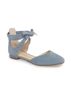Sole Society Pauly Ankle Wrap Flat (Women)