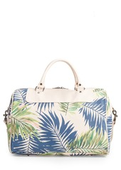 Sole Society Print Faux Leather Duffel Bag