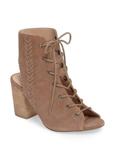 Sole Society Rohan Lace-Up Bootie Sandal (Women)