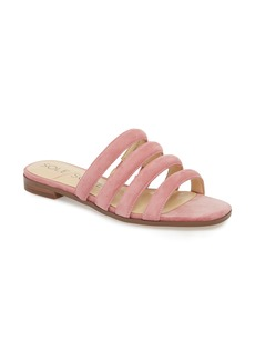 Sole Society Saxten Strappy Slide Sandal (Women)