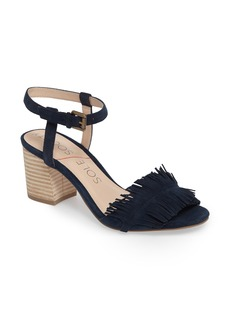 Sole Society Sepia Fringe Sandal (Women)