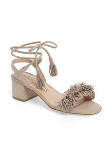 Sole Society Sera Wraparound Fringe Sandal (Women)