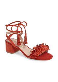 Sole Society Sera Wraparound Fringe Sandal (Women)