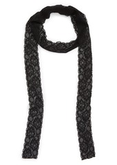 Sole Society Skinny Lace Scarf