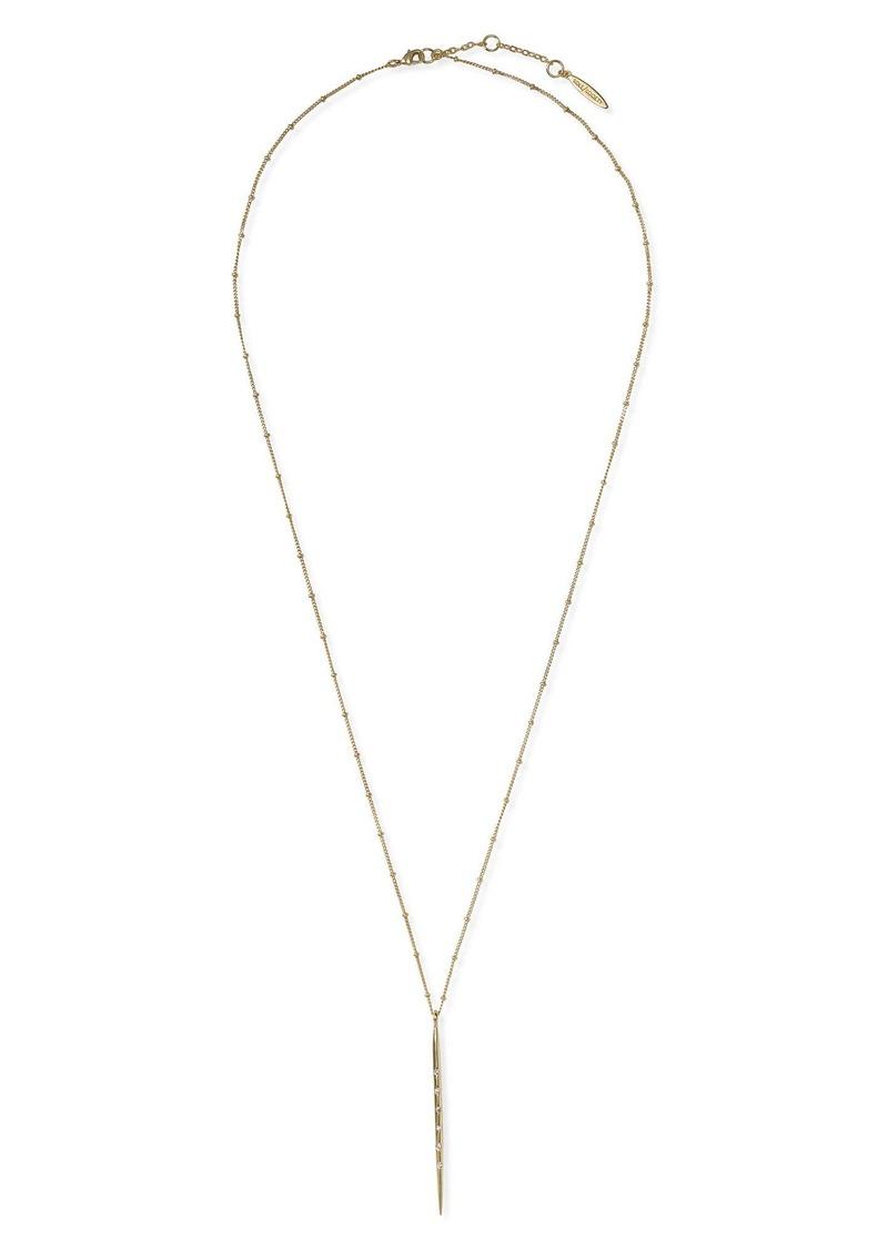 Sole Society Stick Pendant Necklace