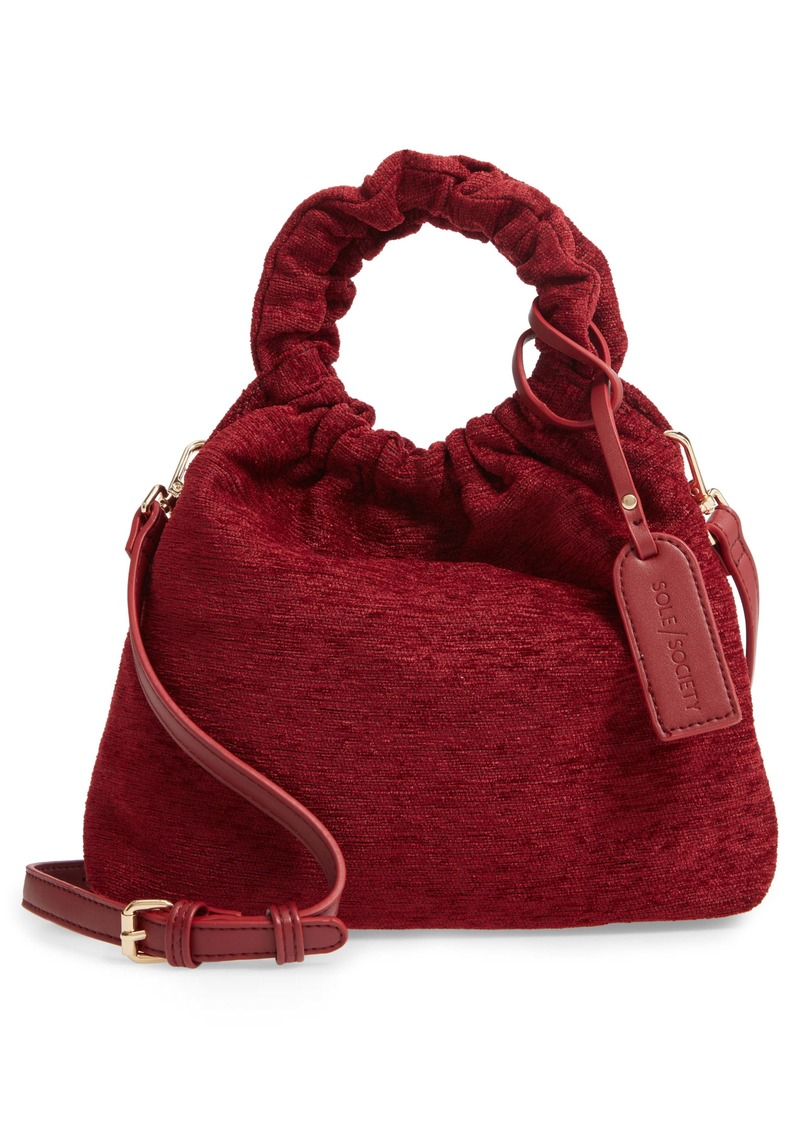 Sole Society Tyll Velvet Crossbody Pouch
