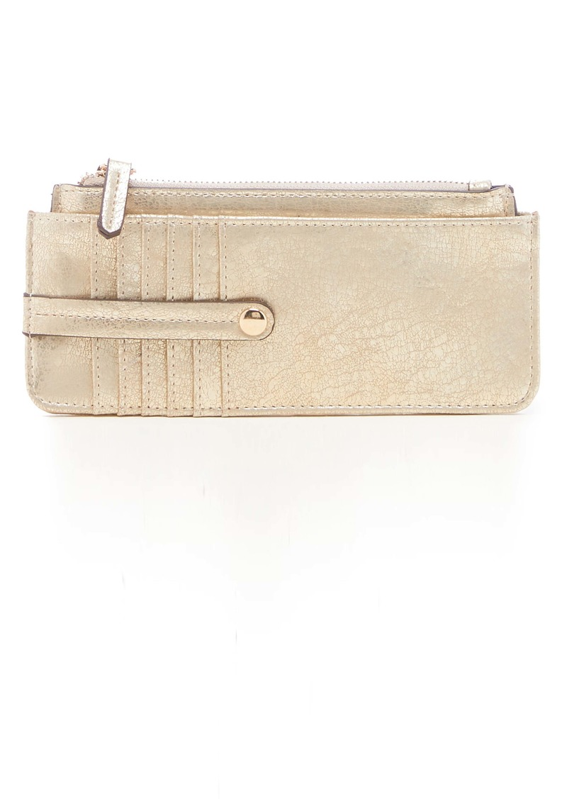 Sole Society TZ Faux Leather Card Case