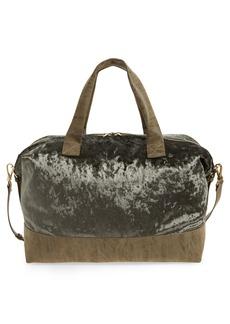 Sole Society Venti Velvet Duffel Bag