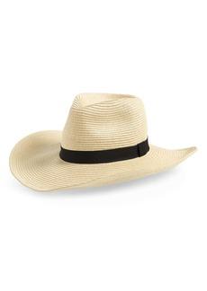 Sole Society Wide Brim Straw Hat