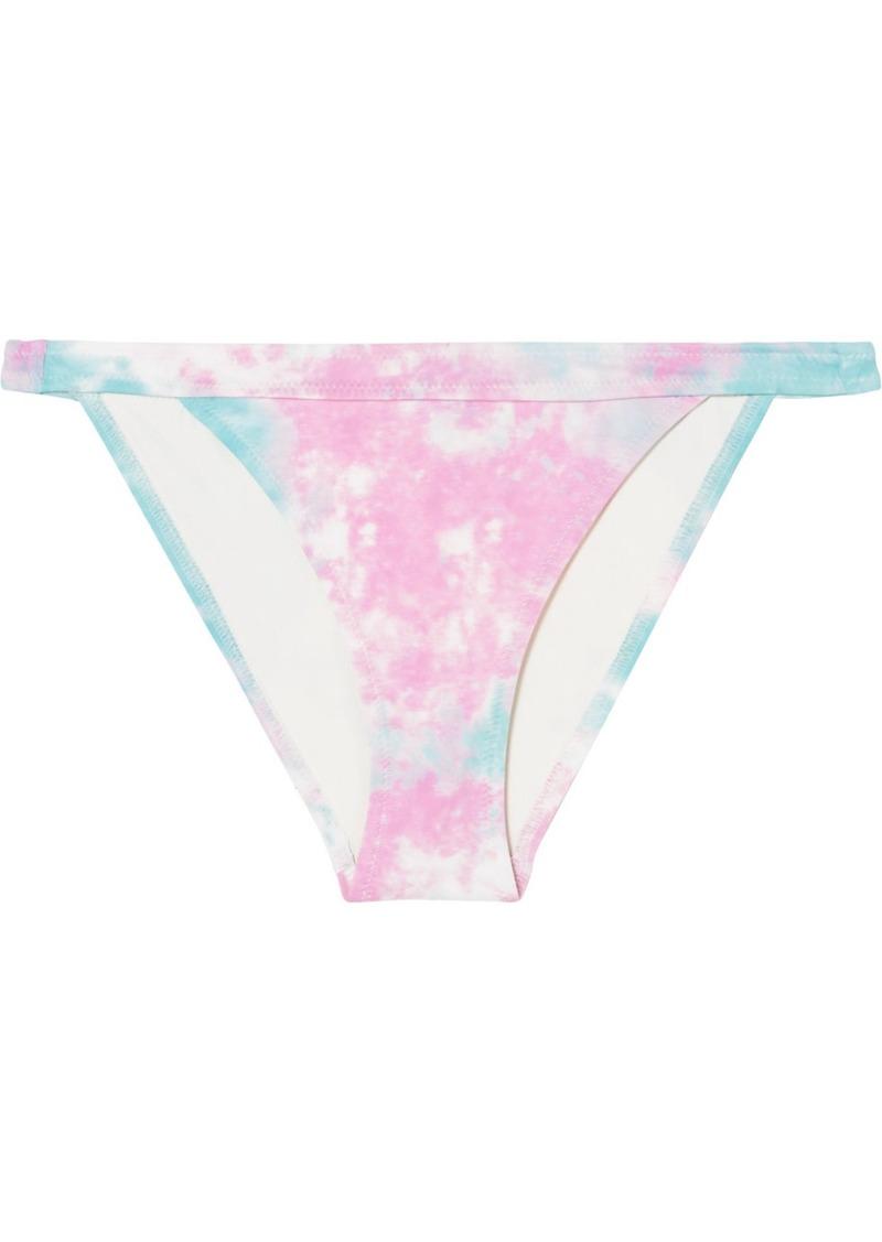 Solid & Striped Re/done The Venice Tie-dyed Bikini Briefs