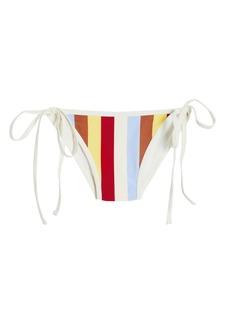 Solid & Striped Amber Striped Bikini Bottoms