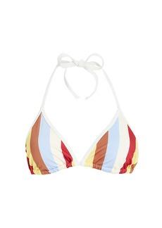 Solid & Striped Amber Triangle Bikini Top
