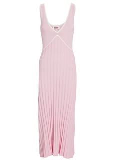 Solid & Striped Aubrey Sleeveless Knit Midi Dress