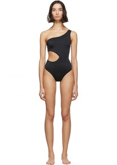 Solid & Striped Black 'The Claudia' One-Piece Swimsuit