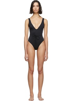 Solid & Striped Black 'The Michelle' One-Piece Swimsuit