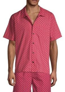 Solid & Striped Cabana Regular-Fit Squiggle Shirt