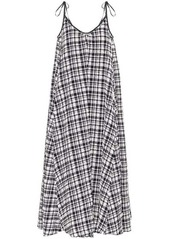 Solid & Striped Check maxi dress