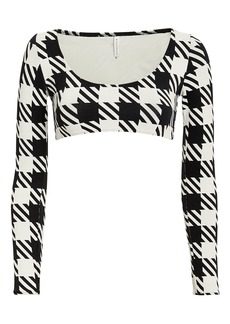 Solid & Striped Colette Long Sleeve Bikini Top