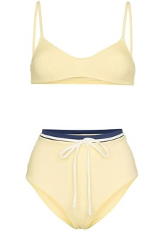 Solid & Striped Cora bikini top and high-waist set