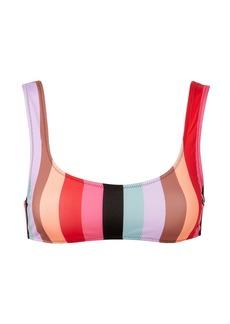 Solid & Striped Elle Malibu Stripe Bikini Top