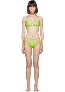 Solid & Striped Green 'The Charlotte' Bikini