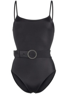 Solid & Striped Nina Belted One-Piece Swimsuit
