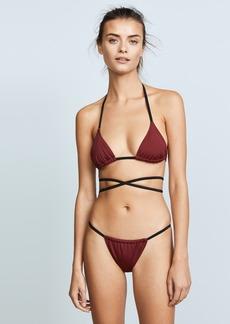 Solid & Striped Swim Team Hannah Bikini Top