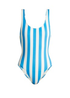 Solid & Striped The Anne-Marie stripe-print swimsuit