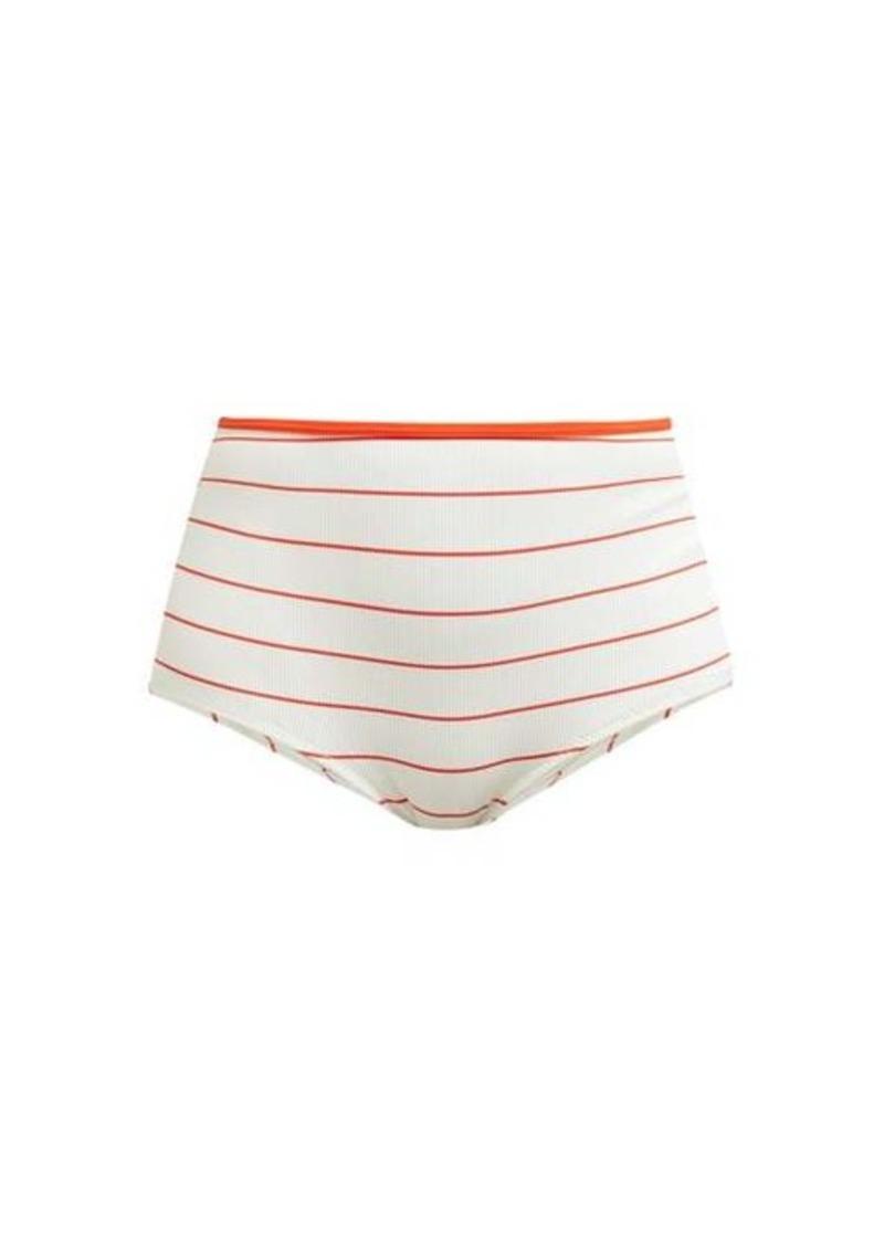 Solid & Striped The Brigitte striped bikini briefs