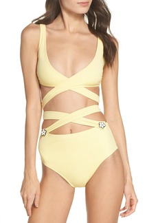 Solid & Striped The Lauren Strappy One-Piece Swimsuit