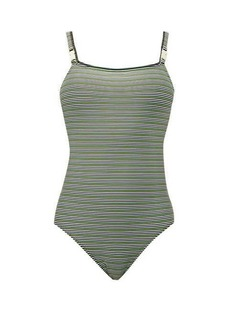 Solid & Striped The Nina logo swimsuit