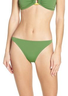 Solid & Striped The Tati Grass High Cut Bikini Bottoms