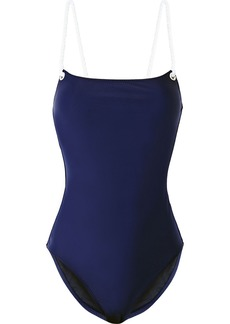 Solid & Striped Woman + Issimo The Nina Swimsuit Navy