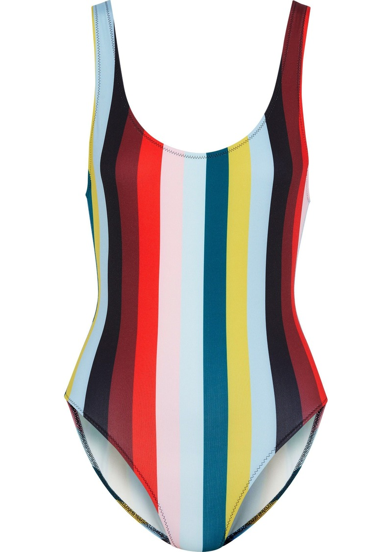 Solid & Striped Woman The Anne Marie Striped Swimsuit Multicolor
