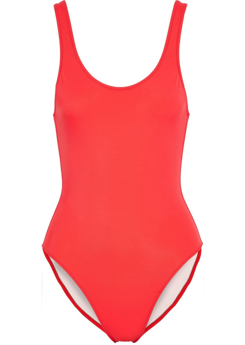 Solid & Striped Woman The Anne Marie Swimsuit Tomato Red