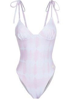 Solid & Striped Woman The Olympia Tie-dyed Swimsuit Baby Pink
