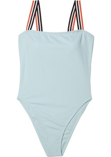 Solid & Striped Woman The Riley Swimsuit Sky Blue